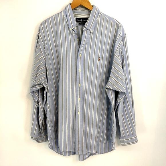 size 40 f0cab 7c8c1 Ralph Lauren Men Vintage Shirt